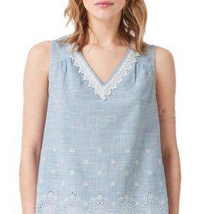 Women's lace bottom shirt